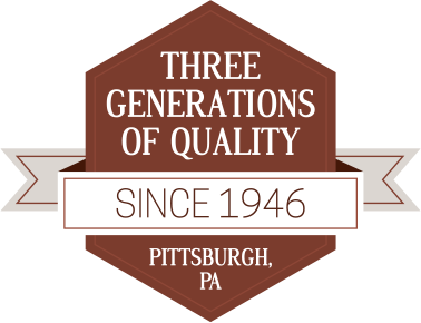 Three Generations of Qualtity, Since 1946, Pittsburgh, PA